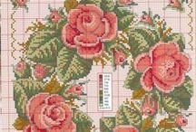Cross Stitch: Wreath