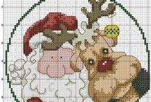 Cross Stitch: Christmans
