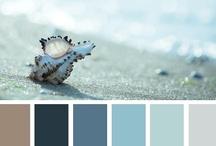 Light blue in interior