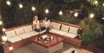 Bring The Outdoors Home / Gorgeous outside living areas you can create!