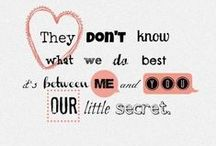 One Direction (Quotes) / by Dream Girl  ✧ °・:*