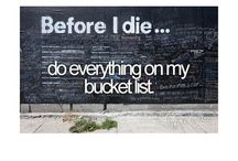 Bucket List / by Abby Willow