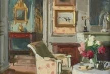 interiors paintings