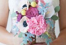 Felt Flower / Bouquets and Boutonnieres