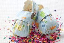 Sapato de Bebês - Baby Shoes