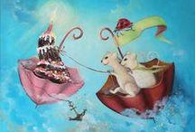 Malarstwo akrylowe i olejne