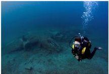 SCUBA Dive in Athens / Φωτογραφίες απο καταδύσεις που έχω κάνει στην Αττική. Photos from my dives around Athens.