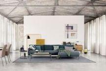 "ROLF BENZ CARA / A sofa you fall in love with instantly - that's Rolf Benz CARA, a new system range with a variety of design options and truly ""lovable"" characteristics."