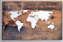 Wood Inspiration. / Wood DIY.