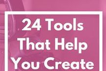 Tool Resources / Your one stop shop for all kinds of tools for online entrepreneurs and bloggers. These can be productivity tools, social media tools, apps for freelancers, creative hacks with a certain tool, must-have software, etc.
