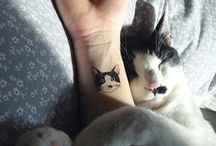Cat Tattoos / cat-lovers and their catty tattoos
