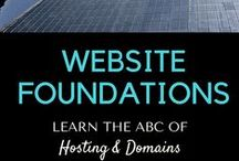Website Foundations / Website Foundations is an online resource for everyone creating a website.  If you are just starting out, there is a lot to learn: How to find the right hosting for your website, understand your options and beware of tricks, how to get a domain, techniques to find the perfect domain name and/or domain ending for your website.