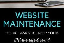 Website Maintenance / Website Maintenance is an online resource for all things to do with maintaining a website.  There is much to learn. For instance, the many facets of maintaining a healthy website. When your website is the source of your business, you simply have to do something to protect it from the online dangers that are lurking around. Broken links, security, backup, SEO, updates, sitemaps, spam, optimization, etc.