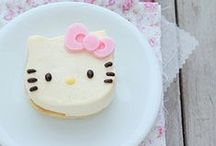 Cute Cat Cakes / Baking inspiration for a purrrfect tea party!
