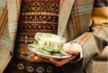 Vintage Knits / Vintage knitting inspiration
