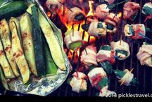 Grilling Recipes / DIY Healthy and Easy grilling recipes for Summer and Winter that include vegetarian, chicken, steaks, and meats- including venison and pheasant and even pineapple and fruits among other sides