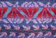 Knitting Inspiration / Design patterns and general knitting inspiration