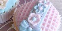 cupcakes  / mafín dekor