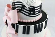 hudba - music cake