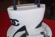 kabelka - bag cake