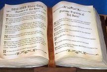 kniha - book cake