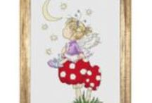 LOTV - Cross Stitch / A fab range of LOTV Cross Stitch Charts and Kits :-)  More details on the website - http://www.liliofthevalley.co.uk/acatalog/Cross-Stitch-Charts.html / by Lili of the Valley Ltd