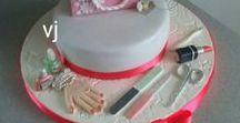 kozmetik - make up / nails cake