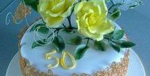 torty kvety/flower cake