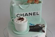 TIFFANY / CHANEL. /  LV- Cake