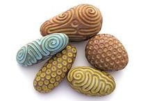 Stones / Stones in another materials. I like things which are not real, but look like ones))