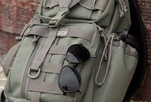 Bags & Backpacks / Collection of Everyday Carry EDC bug out backpacks, packs, and bags
