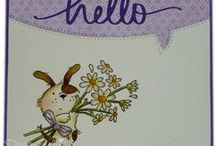 LOTV - Latest Stamp Launch :-) / A fab selection of 17 stamps - Odd Dog, Teenage Girls and Flowers. Out now! / by Lili of the Valley Ltd