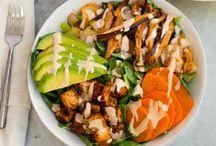 Vegan Bowls & Salads