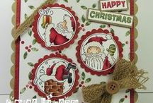 LOTV - Next Launch / 6 gorgeous Christmas Trio stamps :-) Available 31st August / by Lili of the Valley Ltd