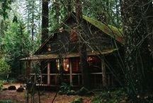 cabin fever // WILDHOOD / #shacks #cabins #hideaways #huts
