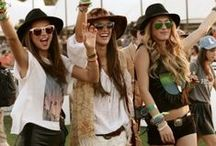 Festival Bound / Inspired by apparel for the music festival season. Coachella, Anyone?