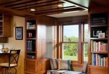 Living Rooms, Dens, and Family Rooms