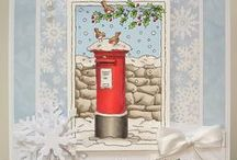 LOTV - Latest Launch - Christmas 2016 / We have a lovely range of 17 Christmas stamps in our first 2016 collection to suit all tastes from traditional scenes to cute kids and animals to Jasmine and Oliver! We also have some more returning friends which have been brought back due to popular demand.  Choose any 6 of the Christmas range for just £24.00! / by Lili of the Valley Ltd