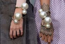 accessorize / The items that make the outfit.