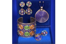 Ethnic jewellery from Morocco / Ethnic jewellery from Morocco: silver, enamel