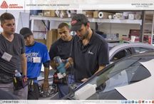 Vehicle Wraps, Training Workshops / Avery Dennison - Supreme Wrapping Films Workshop instructed by globally recognized graphic installer Justin Pate.