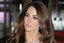 Kate Middleton's Hair / Celebrating the glory and luster of Kate's hair.