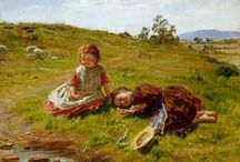 William McTaggart (1835 - 1910) Machrihanish Painter. / William McTaggart (1835 - 1910) was one of the finest painters Scotland has produced, and an original genius, a pioneer of impressionism before it even had a label. From Machrihanish, Argyll, Scotland