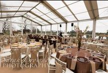 Tented weddings / Tented outdoor weddings
