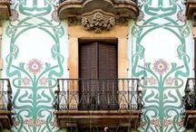 Amazing  doors, windows and other places