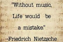 Music <3 / The one thing, that is able to make everyone feel happy, sad, angry, nostaligic,...