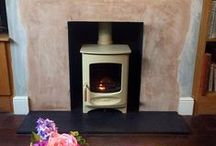 Charnwood wood stoves installed by Stoake Ltd / A collection of Charnwood stoves we've installed