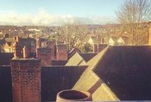 Views from the roofs / A collection of skylines from the roofs we work on while fitting wood burning stoves