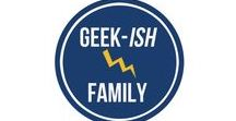 That Geekish Family / The best family geek ideas from a Mom who has learned to embrace the geek, herself. Learn tips to enjoy your family's fandoms and make life fun!  http://thatgeekishfamily.com