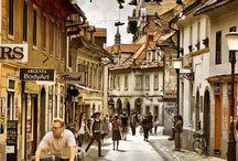 Ljubljana / Travelling to